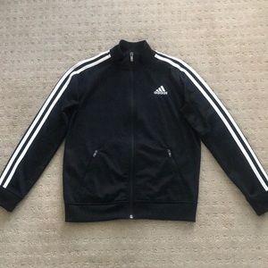 Adidas Essentials Tricot track jacket, blk, size S